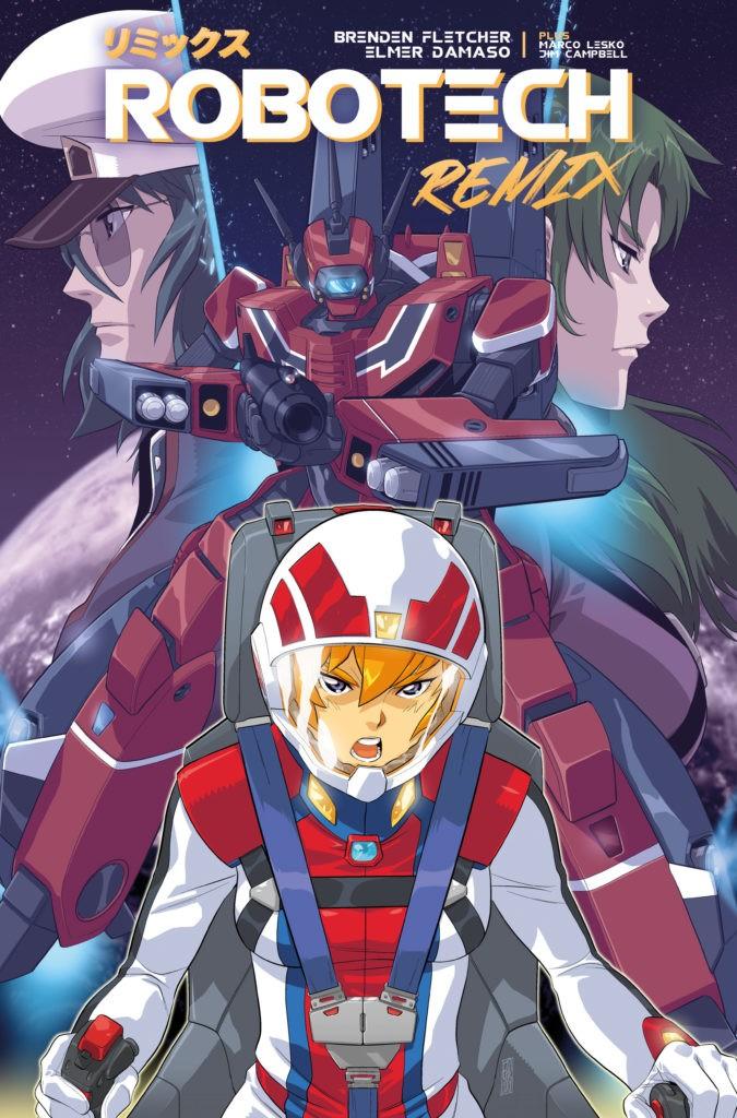 New Comics: Robotech: Remix #1